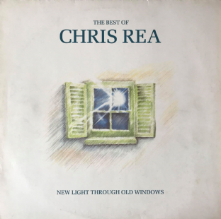 Chris Rea ‎- The Best Of Chris Rea:  New Light Through Old Windows (LP) (G++/VG-)